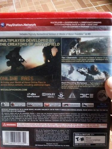 Juego Medal Of Honor