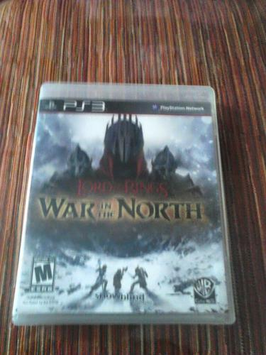 Juego Para Ps3 The Lord Of The Rings War In The North