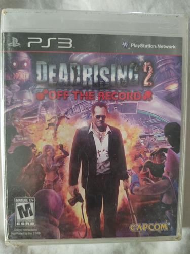 Juego Ps3 Deadrising 2 Off The Record
