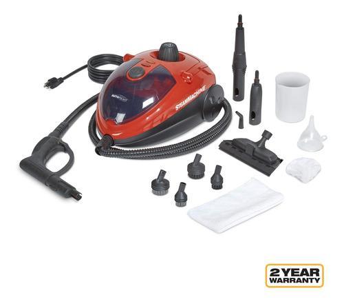 Limpiadora Autoright A Vapor Electrica, Roja