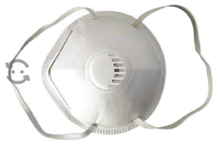 N95 con válvula de exhalación y reutilizable
