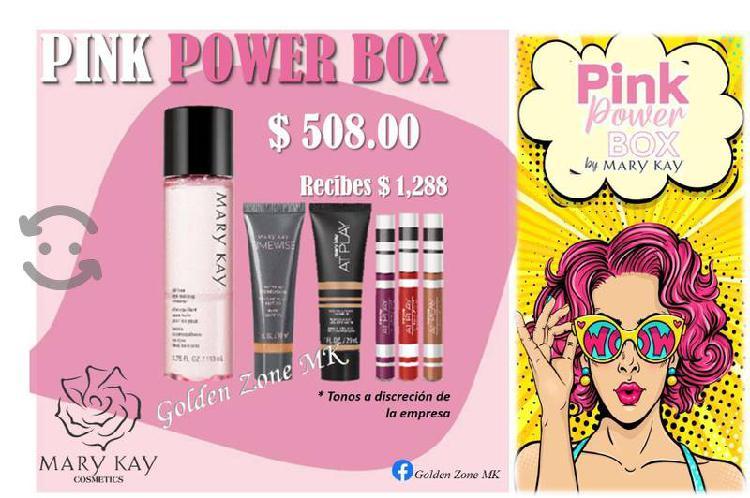 Pink Power Box $508 ¡Inicia Tu Negocio Mary Kay!