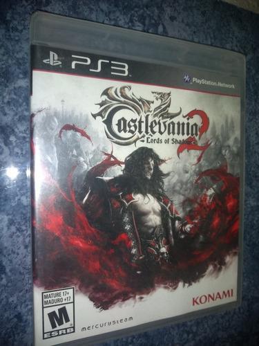 Playstation 3 Ps3 Juego Castlevania Lords Of Shadow 2 Nuevo