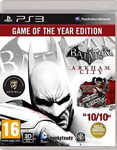 Playstation 3,batman Arkham City - Juego Del Año (ps3)..