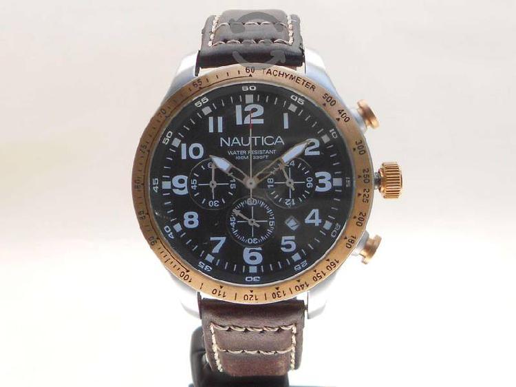 Reloj Nautica Con Cronografo-Tachymeter Caballero