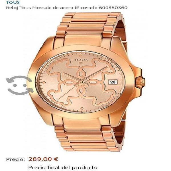Reloj Tous Original acero rosado remate