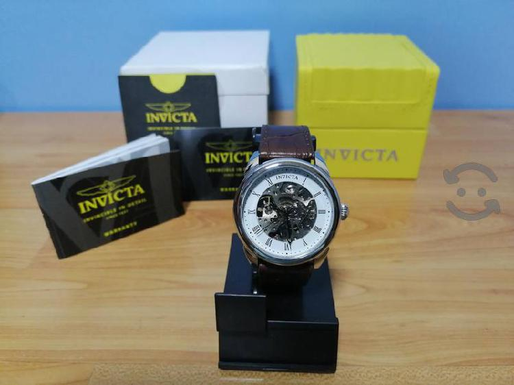 Reloj invicta 17185 tipo skeleton