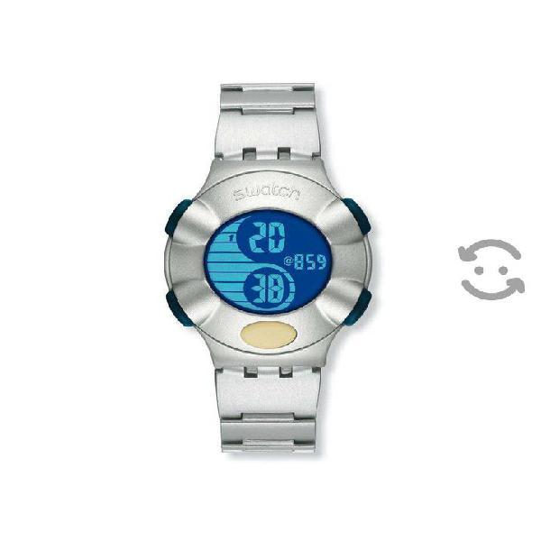 Swatch .beat Aluminium Double.dot (yks4000ag) 2001