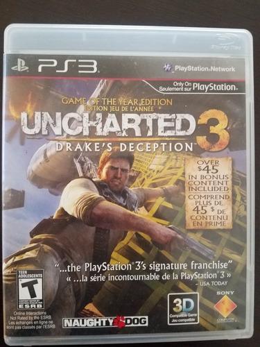 Uncharted 3 Juego Fisico Para Ps3