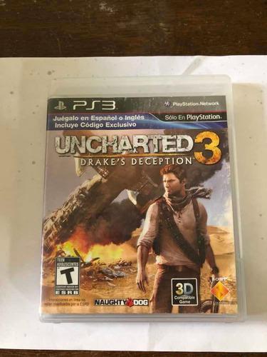 Uncharted 3 (drakes Decepción) Juego Para Ps3.