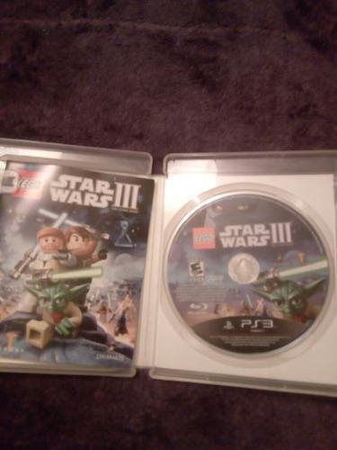 Video Juego Lego Star Wars Iii The Clone Wars Ps3