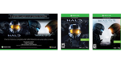 Xbox One Pack: Halo 5 + Halo Master Chief Collection