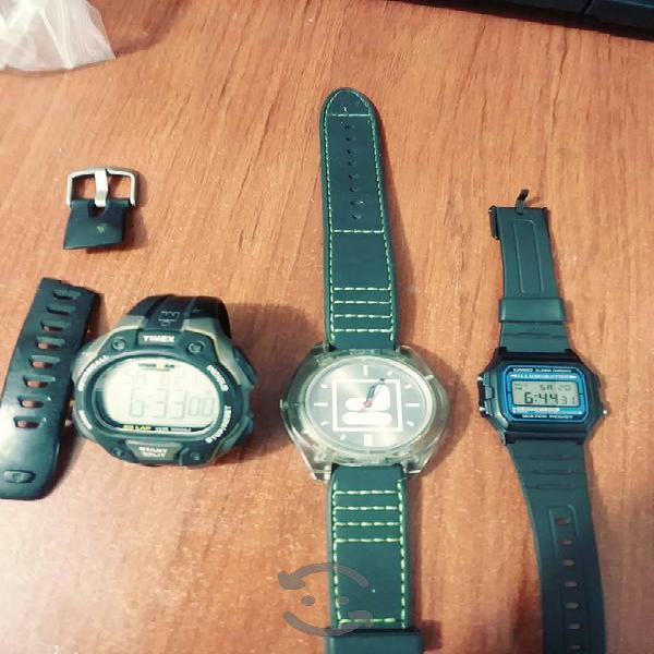 lote de relojes Casio clásico luminator nuevo fila