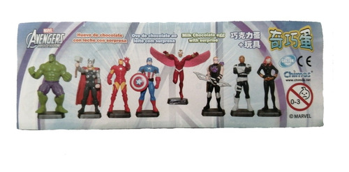 Figuras Miniatura Avengers Assemble Huevo Sorpresa Chimos