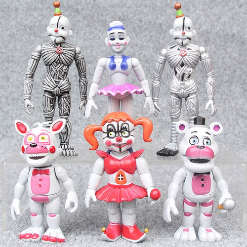 Five Nights At Freddy's Colección De 6 Figuras