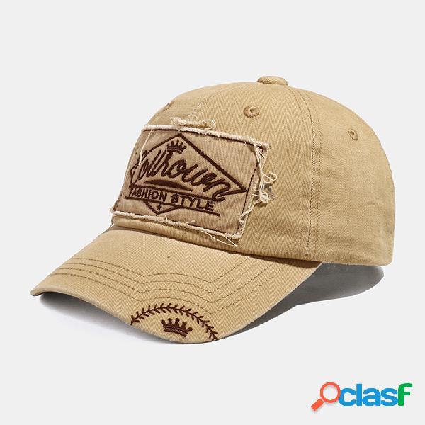 COLLROWN Gorras de béisbol ajustables con costuras de