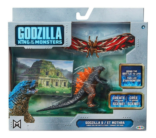 Godzilla King Of The Monsters - Godzilla & Et Mothra