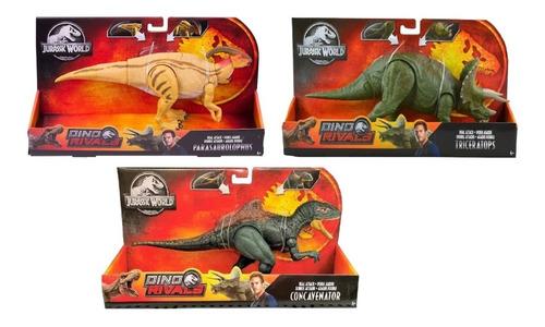 Jurassic World Triceratops, Parasaurolophus Y Cocavenator