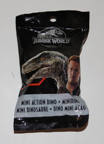 Mattel Jurassic World Mini Action Dinos