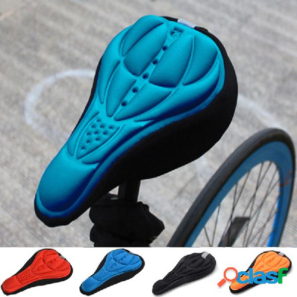 Sillín de bicicleta 3D Soft Funda de asiento Gel Silicona