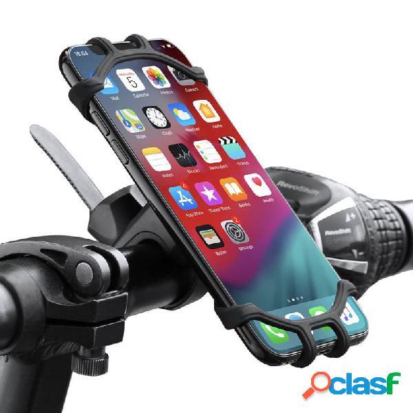 Soporte de teléfono de bicicleta Silicona de alta calidad