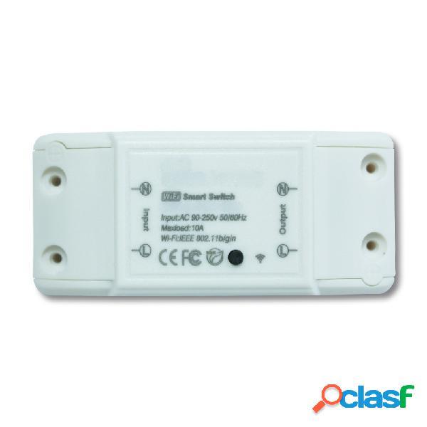 TechZone Interruptor Electrico Inteligente TZBRKSH01, WiFi,
