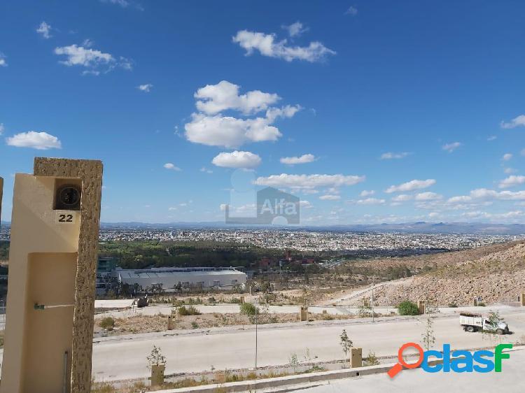 Terreno habitacional en venta en Lomas del Pedregal, San