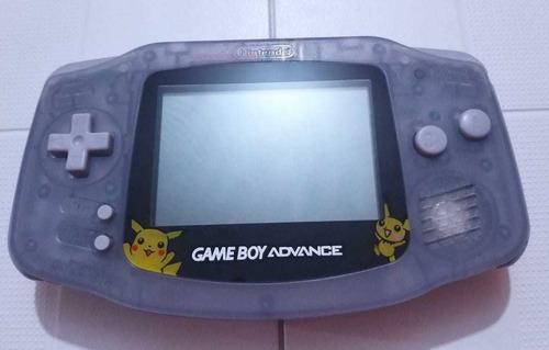 Gameboy Advance Azul Translúcido *edicion Pikachu*original.