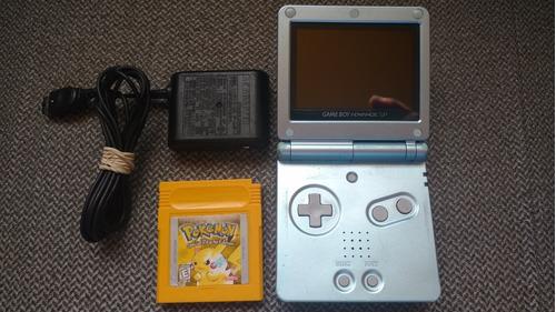 Gameboy Advance Mod 101 Doble Brillo Con Pokémon Amarillo