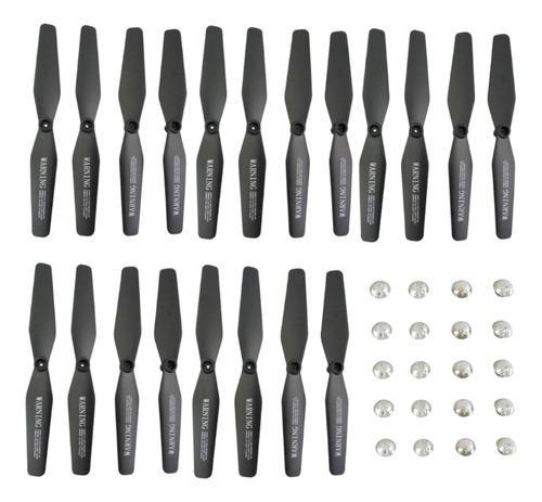 20 Piezas Hélices Propellers Repuesto Para Visuo Xs809