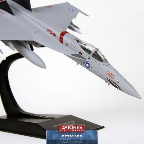 Avión Salvat #20 F/a-18 Super Hornet
