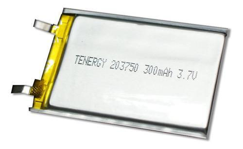 Batería Lipo, Polímero De Litio De 3.7v, 300mah, Mini.