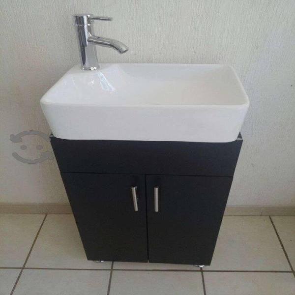 GABINETE DE BAÑO con lavabo ceramica blanco NUEVO