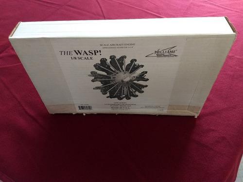 Motor 1/8 Pratt & Whitney Wasp Williams Bros. (no Tamiya)