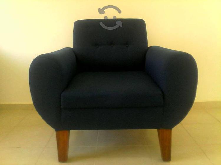 Mueble para sala color azul marino