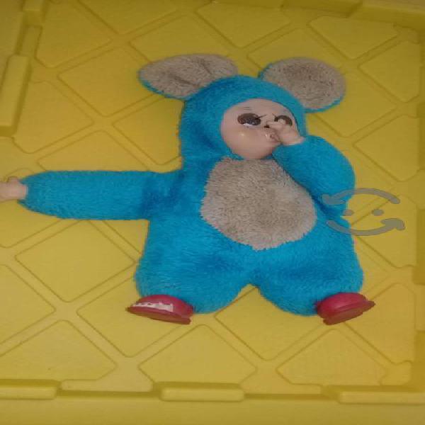 Muñeco oso de peluche años 70s