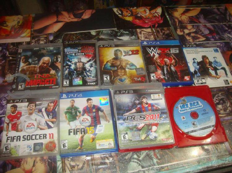 Pack de 8 Juegos para Play Station Consolas