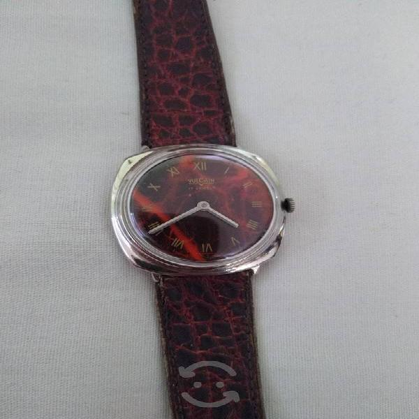 Reloj vulcain de cuerda Vintage