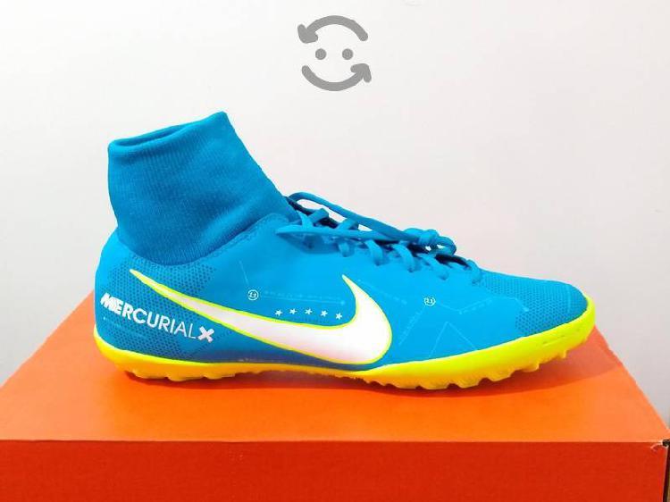 Tenis Para Fútbol Nike Mercurial Talla 27