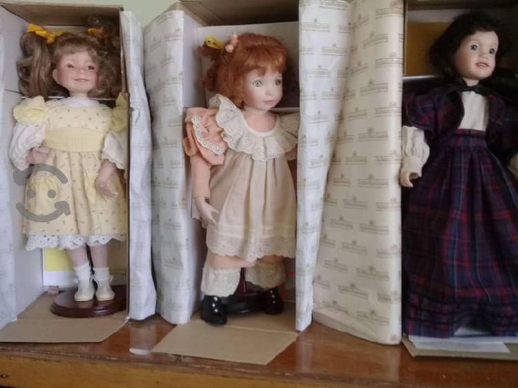 Vendo muñecas de colección