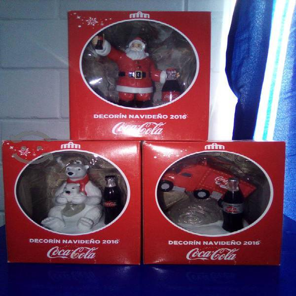 decorines coca cola navideños del 2016