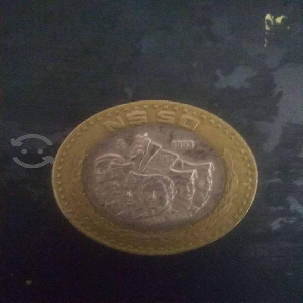 monedas de colección de $50,20, 5