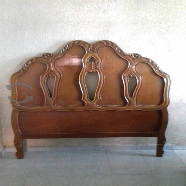 remato para hoy cabecera matrimonial madera tallad