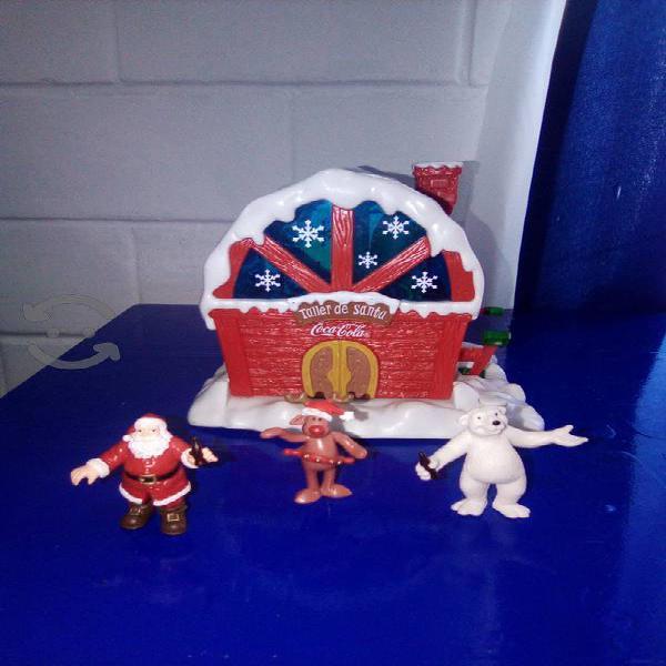 taller de Santa navidad coca cola