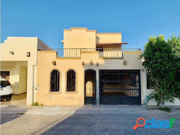 Casa de 4 Rec en PUERTA REAL 1ra Etapa Hermosillo