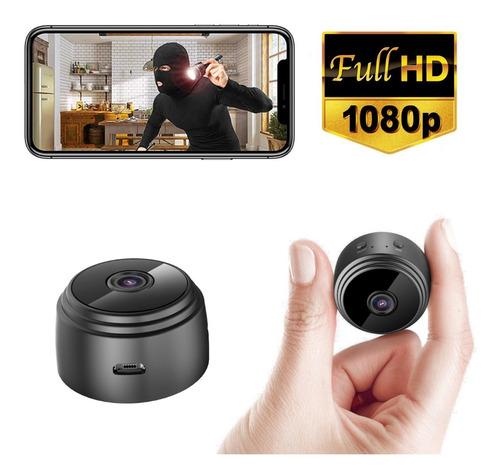 Cámara Espía Wifi Hd p Imán Batería Ios Android