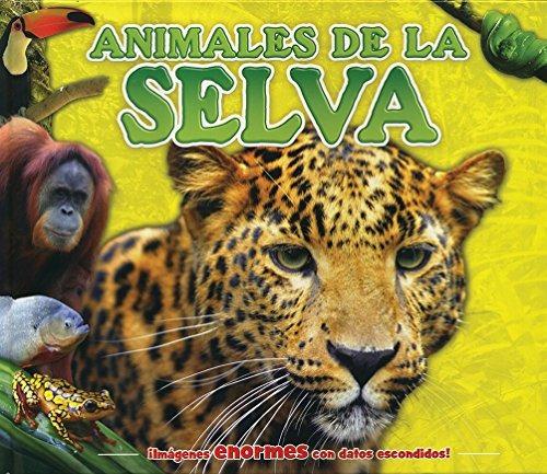 Libro Datos Escondidos Para Niños: Animales De La Selva