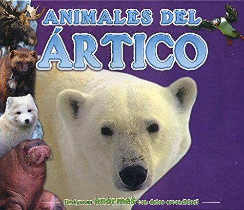 Libro Datos Escondidos Para Niños: Animales Del Ártico