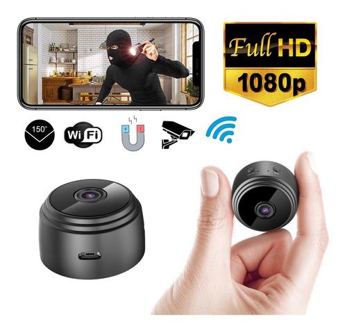 Mini Cámara Espía Hd  Wifi 150 Grados Imán Batería