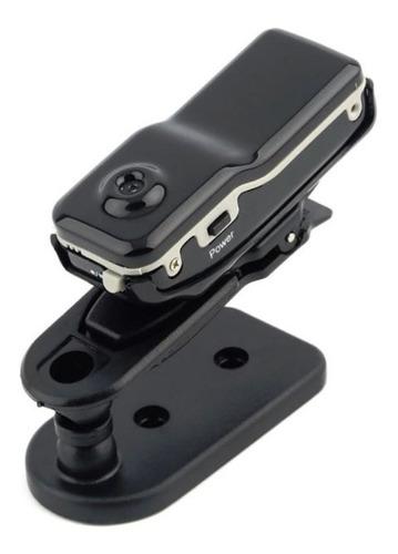 Mini Cámara Espía Md80 Grabación Dv Soporte Micro Sd